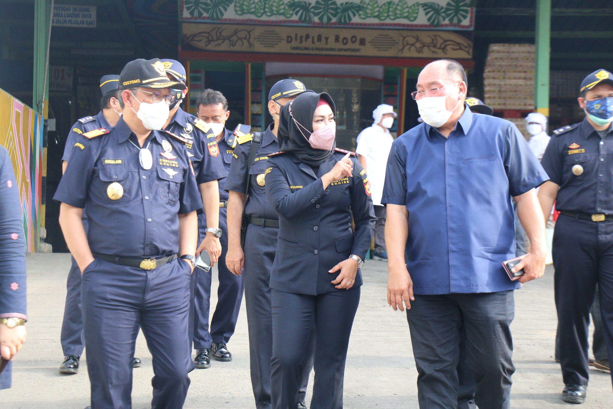 Direktur Jenderal Bea dan Cukai Menyapa Lampung